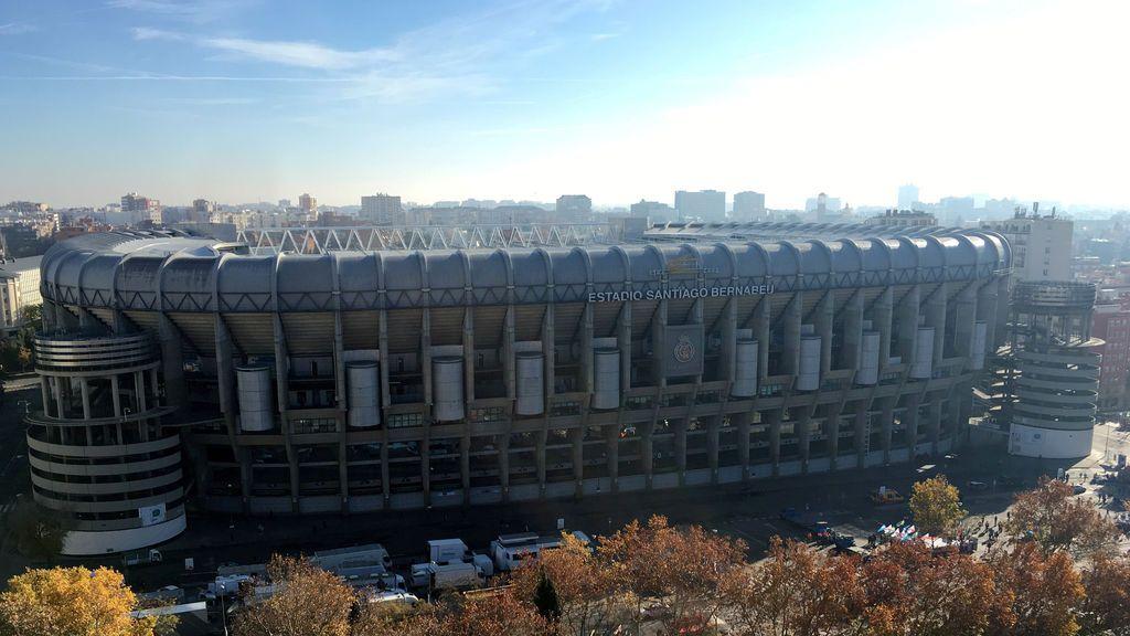 El Santiago Bernabéu se convierte en el gran centro logístico para almacenar material sanitario