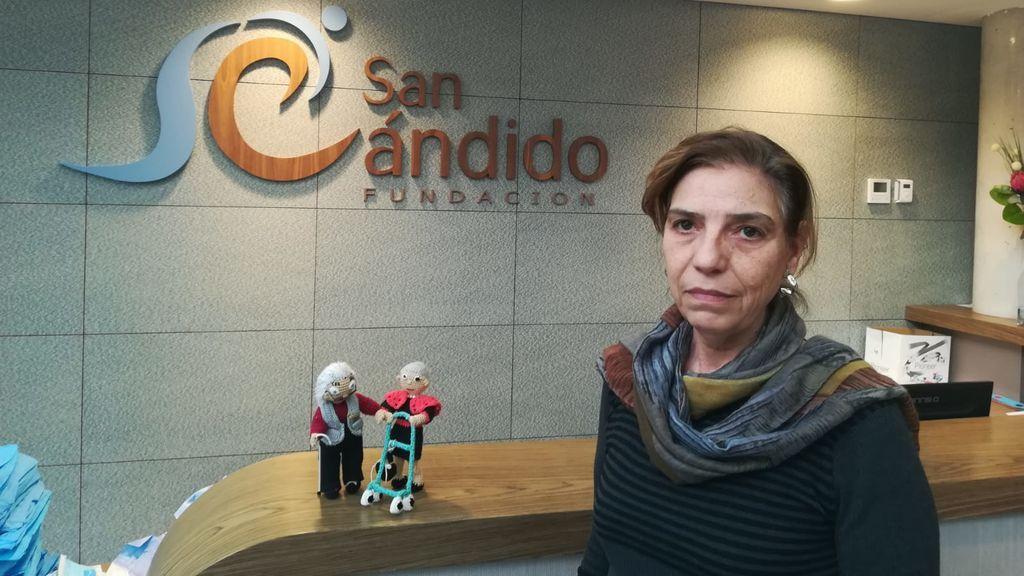 Gemma De la Concha,  directora residencia San Cándido.