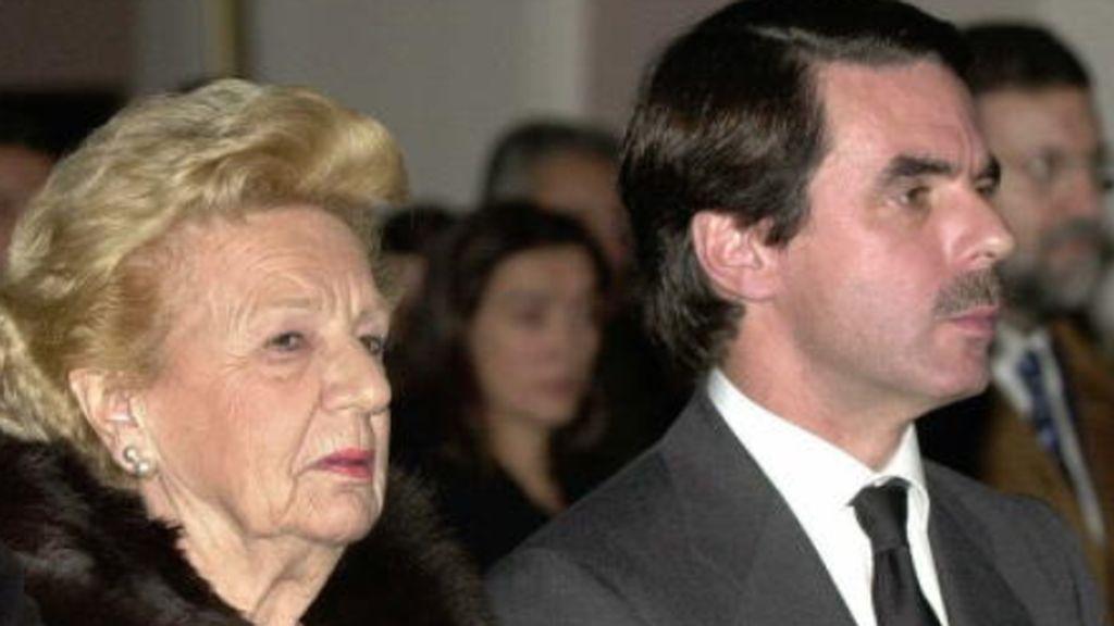 Muere la madre de José María Aznar a los 98 años por causas naturales