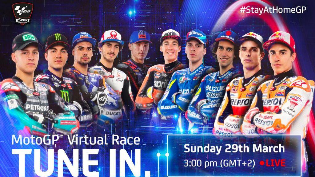 Habrá carrera de MotoGP este domingo, aunque será virtual