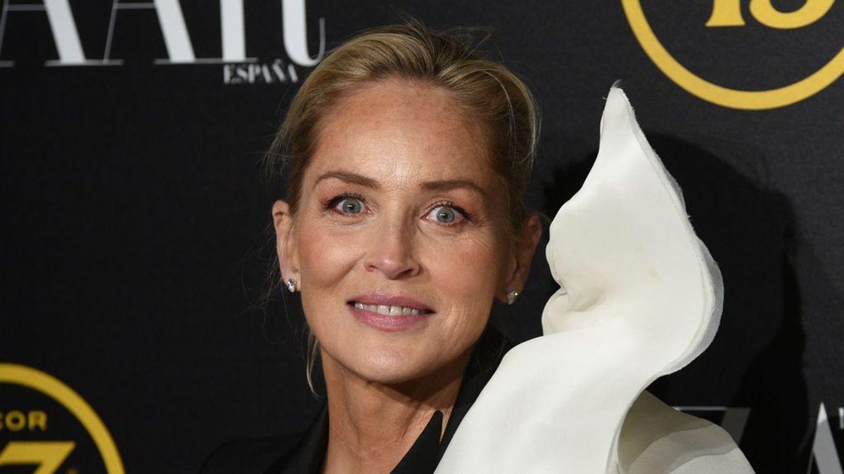 Sharon Stone apoya una investigación española para dar con la vacuna contra el coronavirus