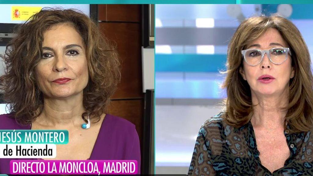 """María Jesús Montero, Ministra de Hacienda: """"Tenemos que autoabastecerse y no depender del exterior"""""""