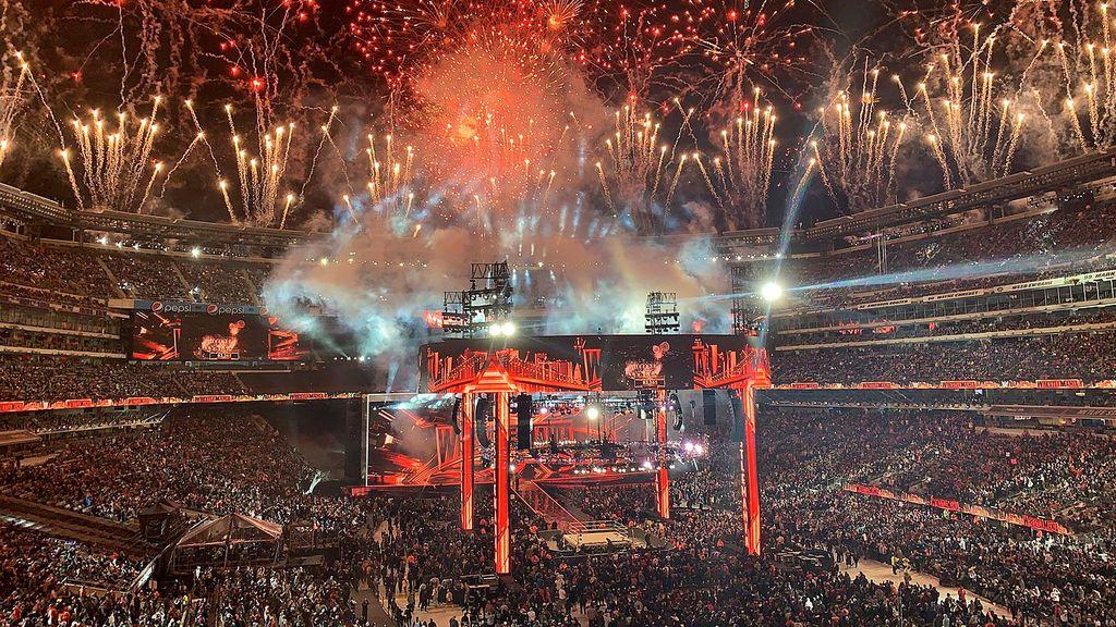 celebración de Wrestlemania