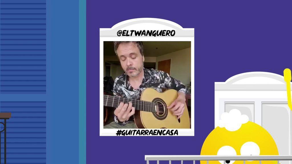 La sensibilidad de @ELTWANGUERO nos emociona a través de su guitarra.