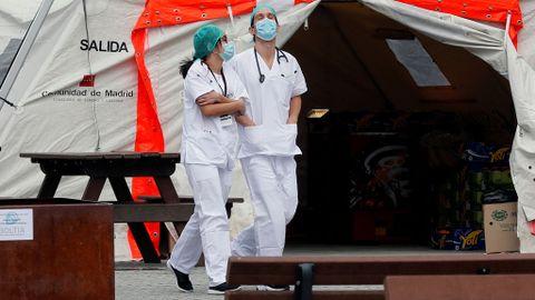 Ifema espera tener más altas médicas que ingresos por coronavirus ...
