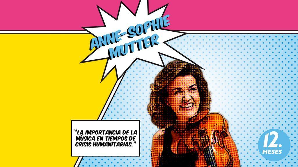 Anne-Sophie Mutter, la importancia de la música en tiempos de crisis humanitarias.