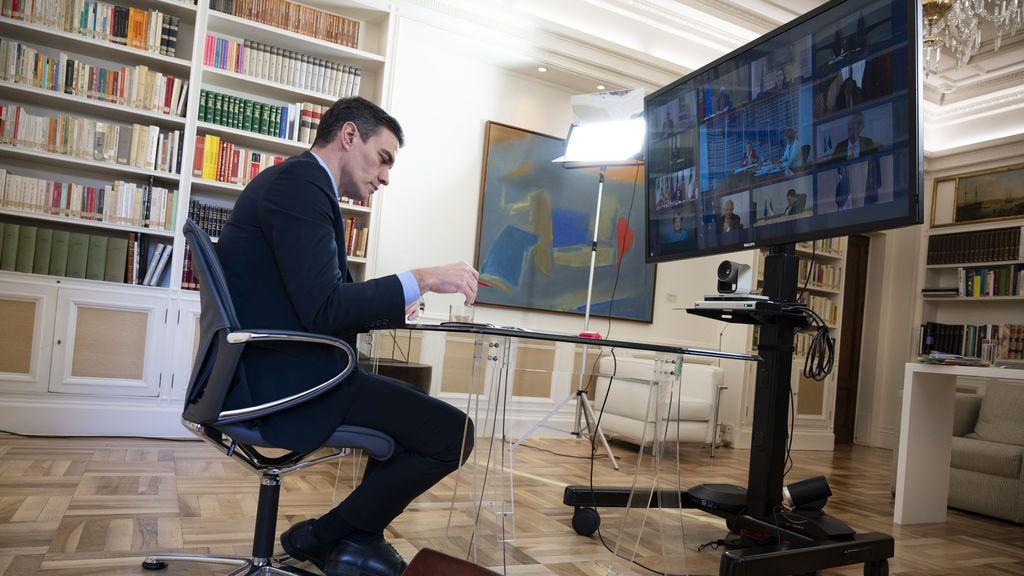 Sánchez en el Consejo Europeo