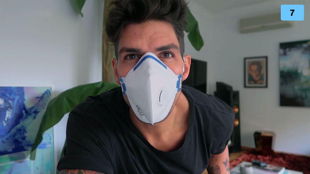 Diego Matamoros cuenta la reacción de su familia al enterarse de que tiene coronavirus (2/2)