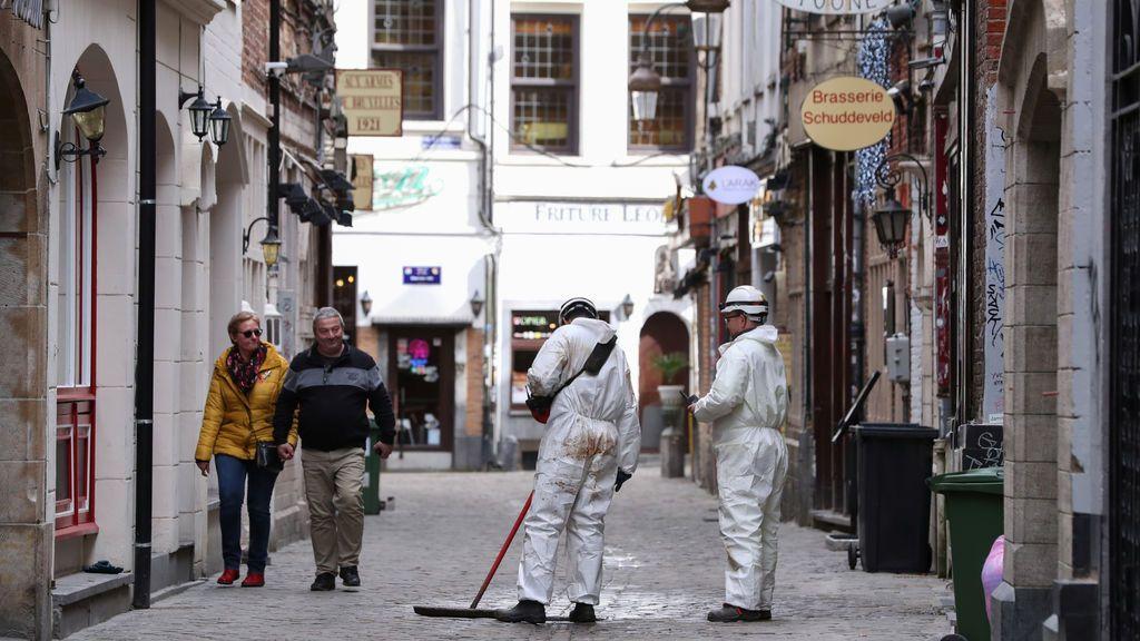 Bélgica revisa sus medidas de confinamiento contra el coronavirus