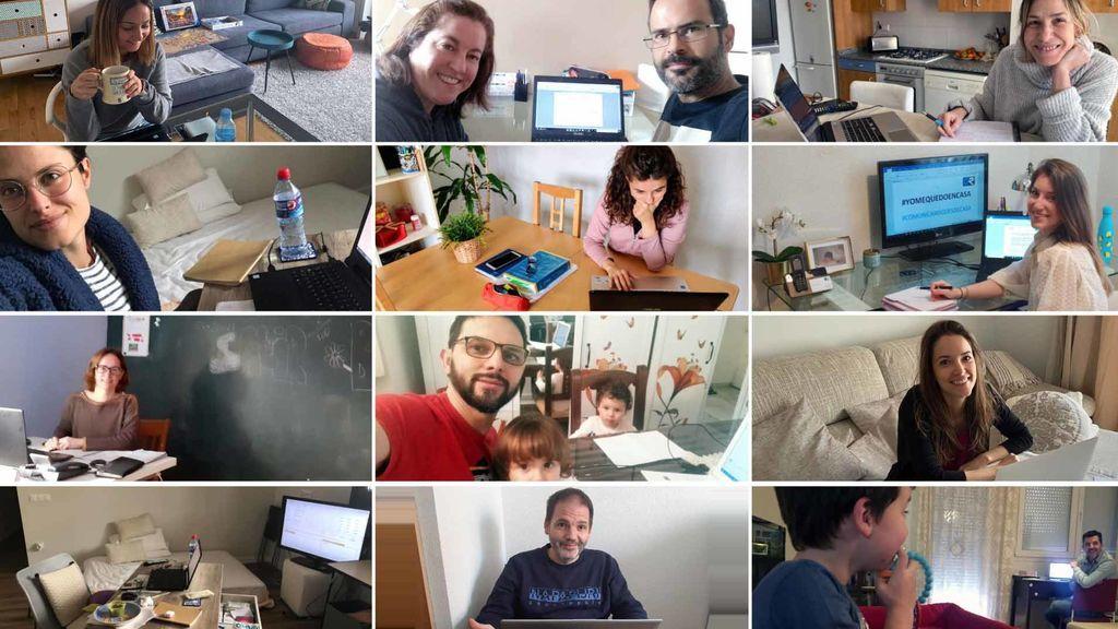 'Mi despacho en casa' o el nuevo lugar de trabajo de millones de españoles