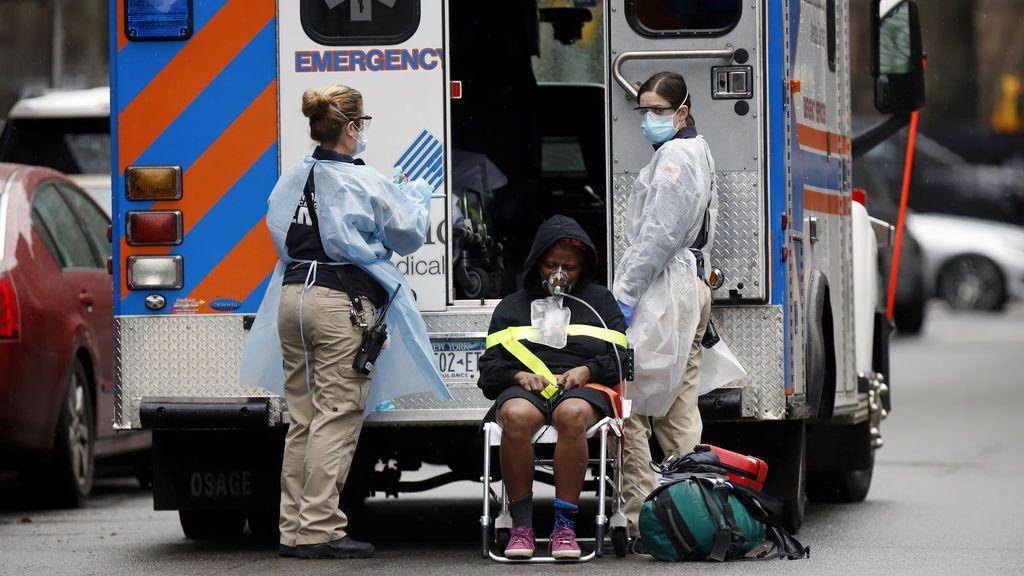 Nueva York informa de 7.681 nuevos casos de coronavirus y suma ya 52.318 contagiados y 728 muertes