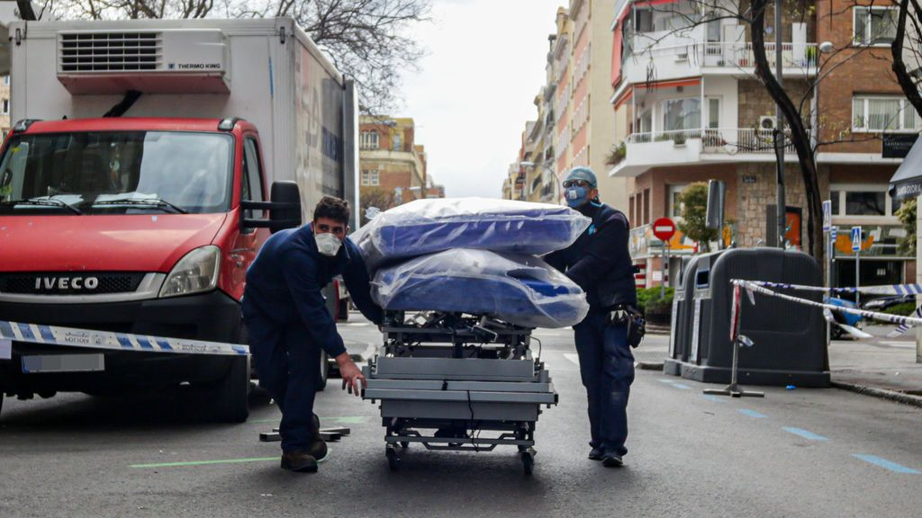 España sufre el peor día de nuevas muertes por coronavirus, con 769 muertos más