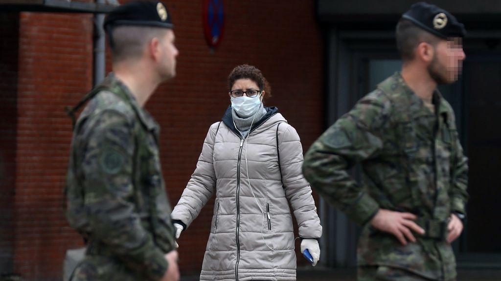 España superará 90.000 infectados este fin semana, según un modelo matemático