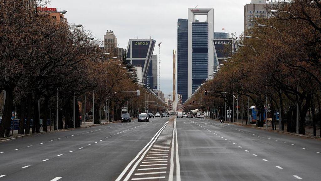 El tráfico de coches particulares se reduce hasta un 80% en la última semana