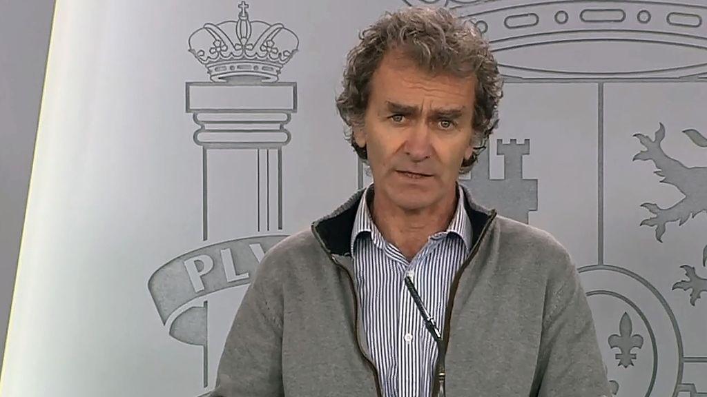 Rueda de prensa del director de alertas sanitarias, Fernando Simón