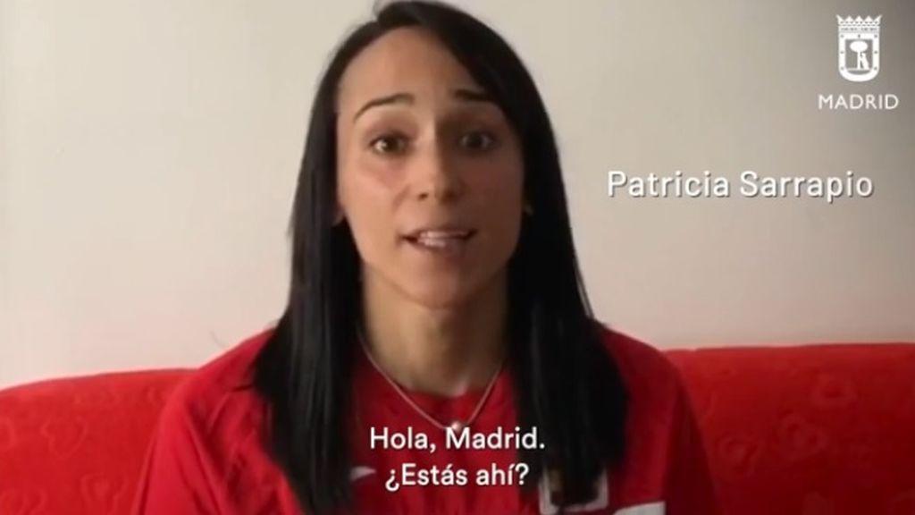 Figuras del deporte madrileño participan en la iniciativa 'Juntos vamos a ganar este partido'