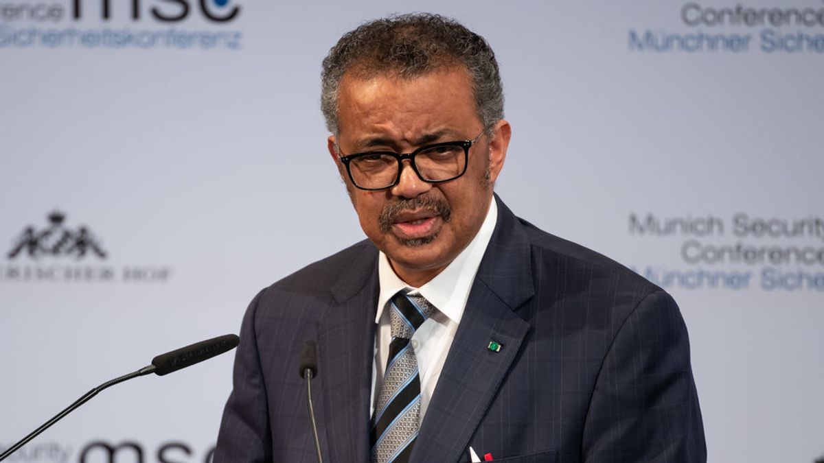 Director general de la Organización Mundial de la Salud (OMS), Tedros Adhanom