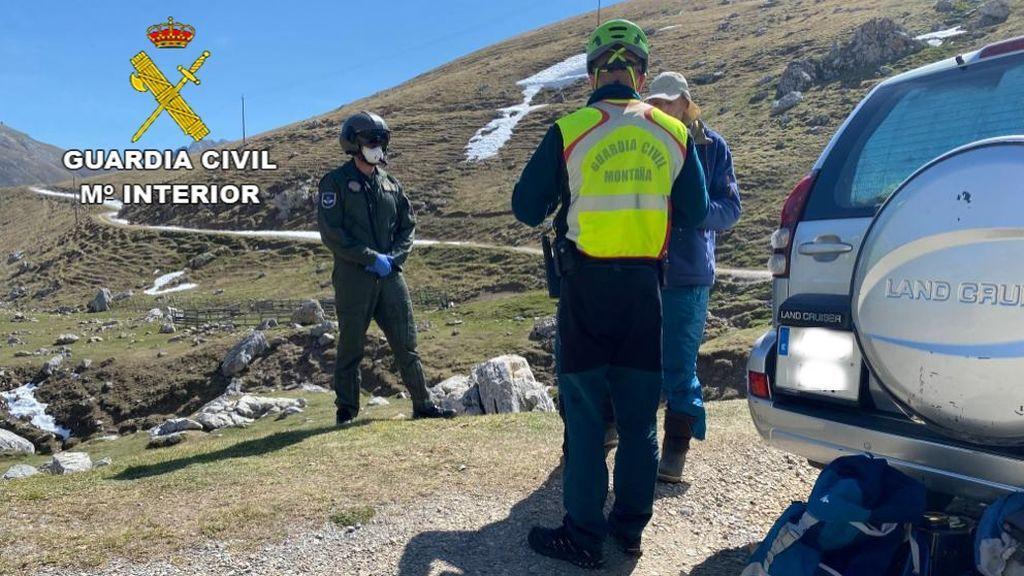 Denunciado un hombre que llevaba acampado en Picos de Europa desde febrero