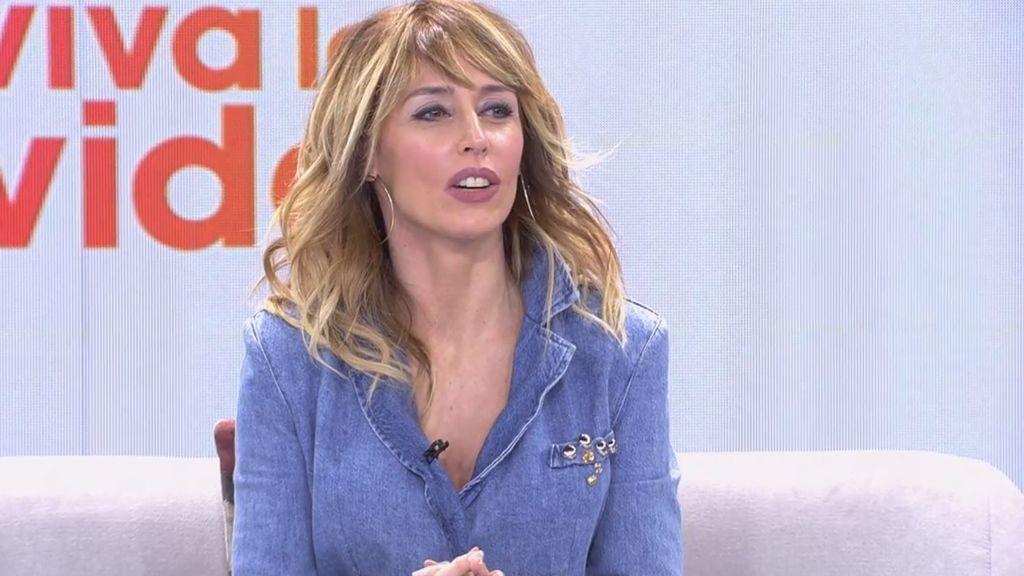 Emma García llama la atención a Suso y Alejandra Rubio