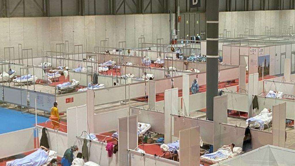 Madrid prevé abrir este lunes el pabellón 7 de Ifema y llegar a atender a 1.300 pacientes el jueves