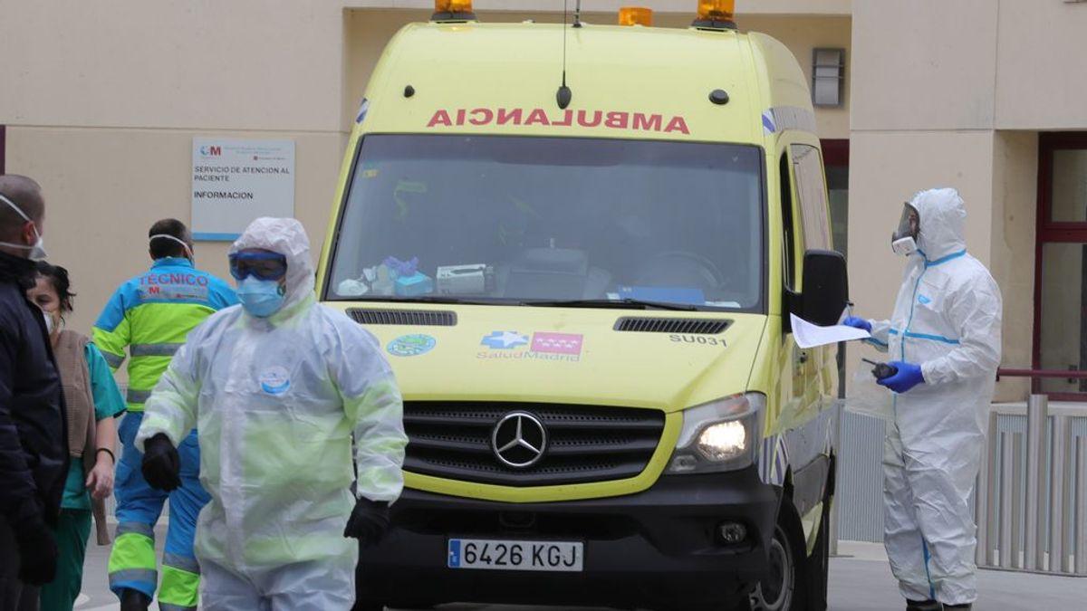 Sanidad estudia repartir pacientes con coronavirus entre comunidades autónomas