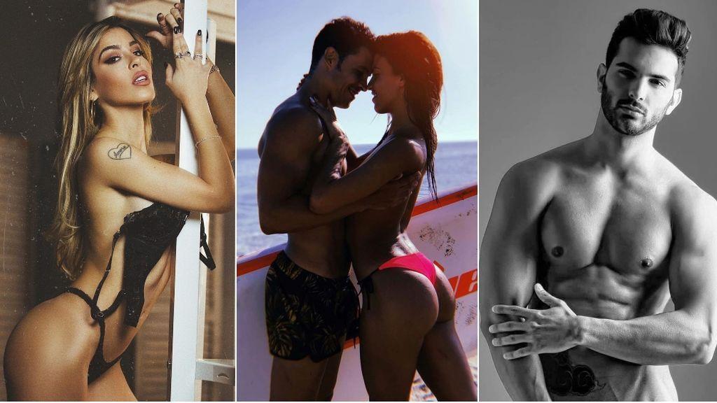 Las '50 sombras' de las parejas y rostros de Mediaset: puro erotismo y poder de seducción