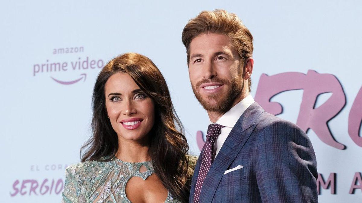 Pilar Rubio y Sergio Ramos personalizan su ropa en familia para sobrellevar la cuarentena