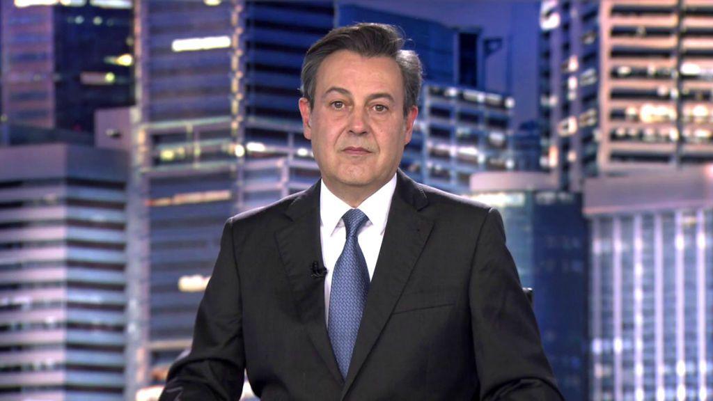 Con José Ribagorda Informativos Telecinco 2020 Noche 29/03/2020