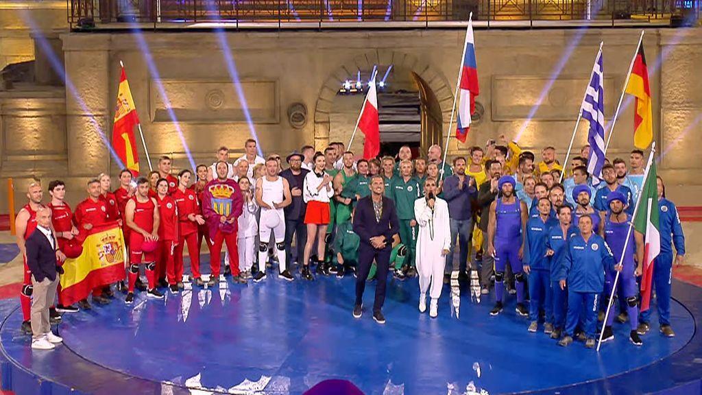 Rusia triunfa en este segundo programa de 'Juegos sin fronteras'