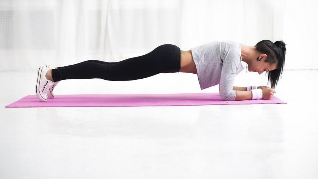 Plancha yoga