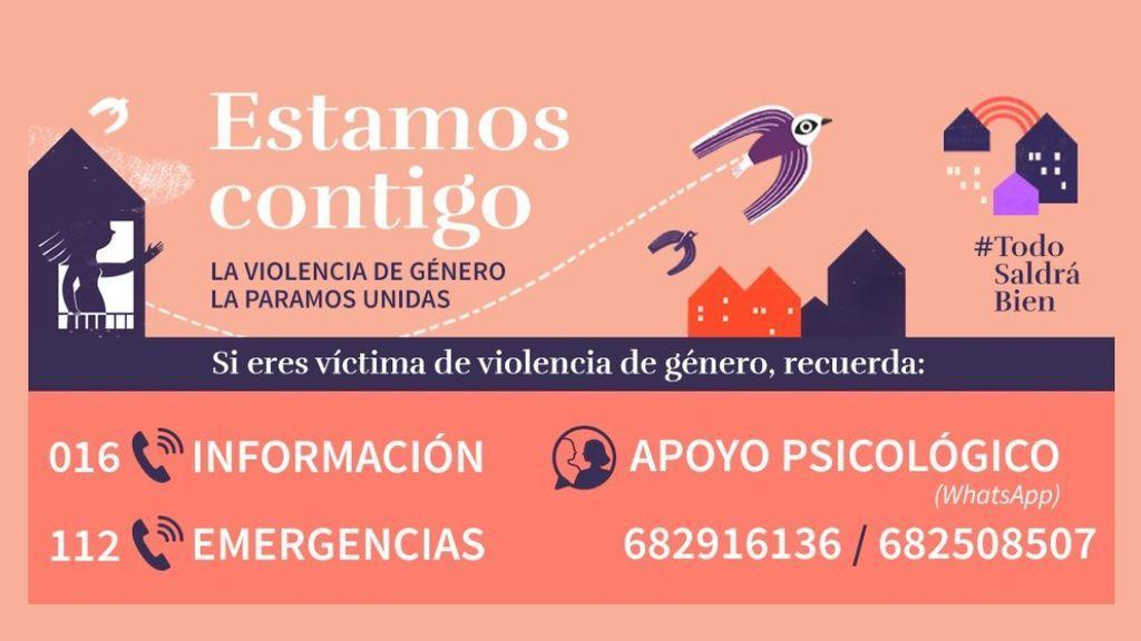 Los casos de violencia de género han bajado un 40% desde el inicio del Estado de Alarma, según la Policía