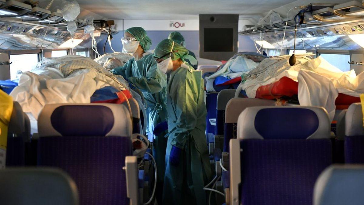 Francia usa trenes de alta velocidad medicalizados aliviar el colapso hospitalario por el coronavirus - NIUS