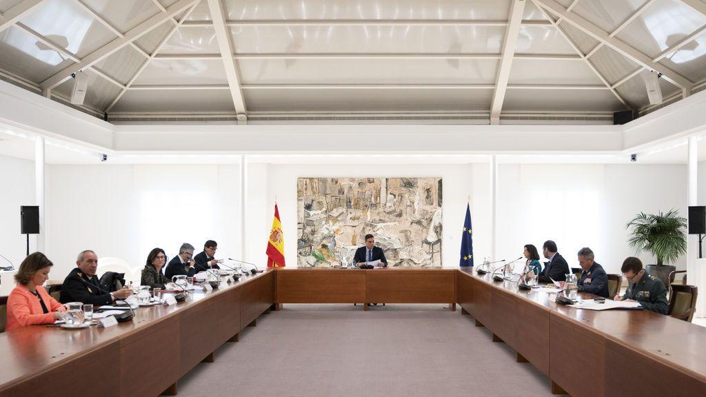 Reunión del Comité técnico contra el coronavirus