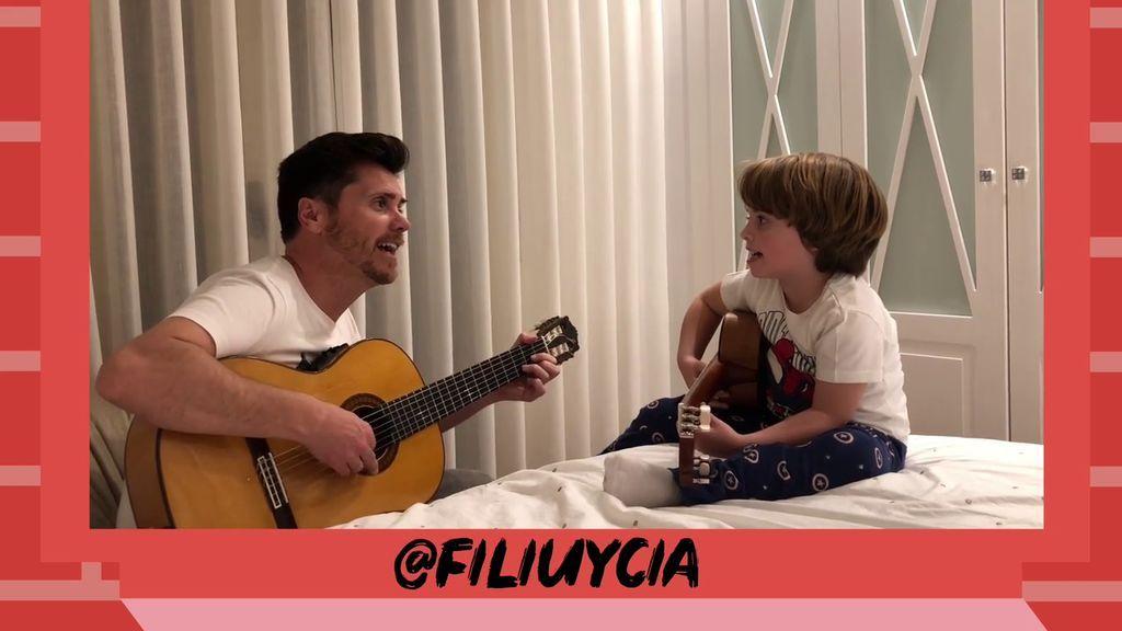 @FILIUYCIA nos comparten su alegría a través de la música