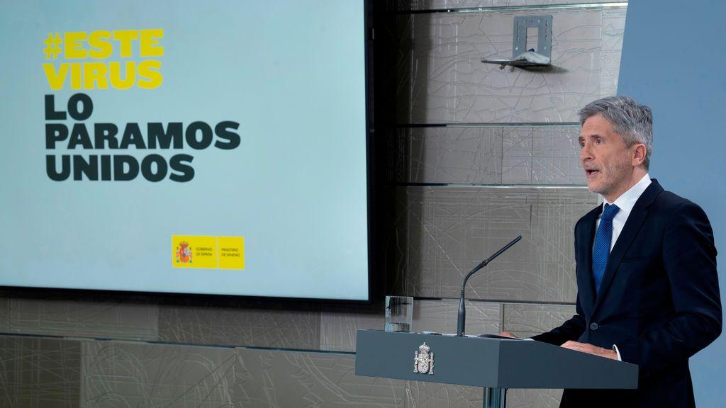 """Fernando Grande Marlaska: """"Este año no hay Semana Santa tal y como la conocemos"""""""