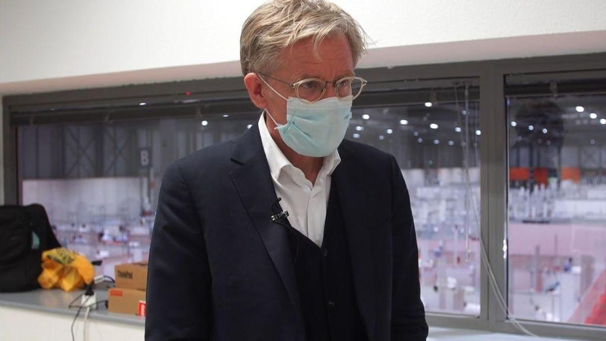 """El Jefe de Expertos de la OMS: """"El hospital de Ifema es extraordinario"""""""