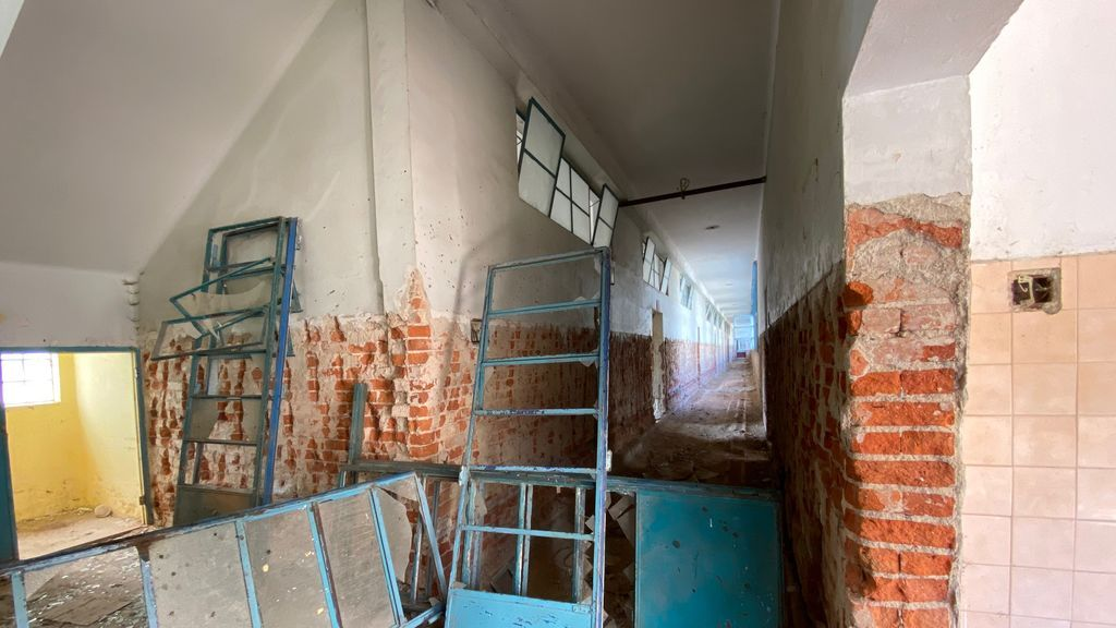 Hospitales en ruinas en Caracas contra el coronavirus