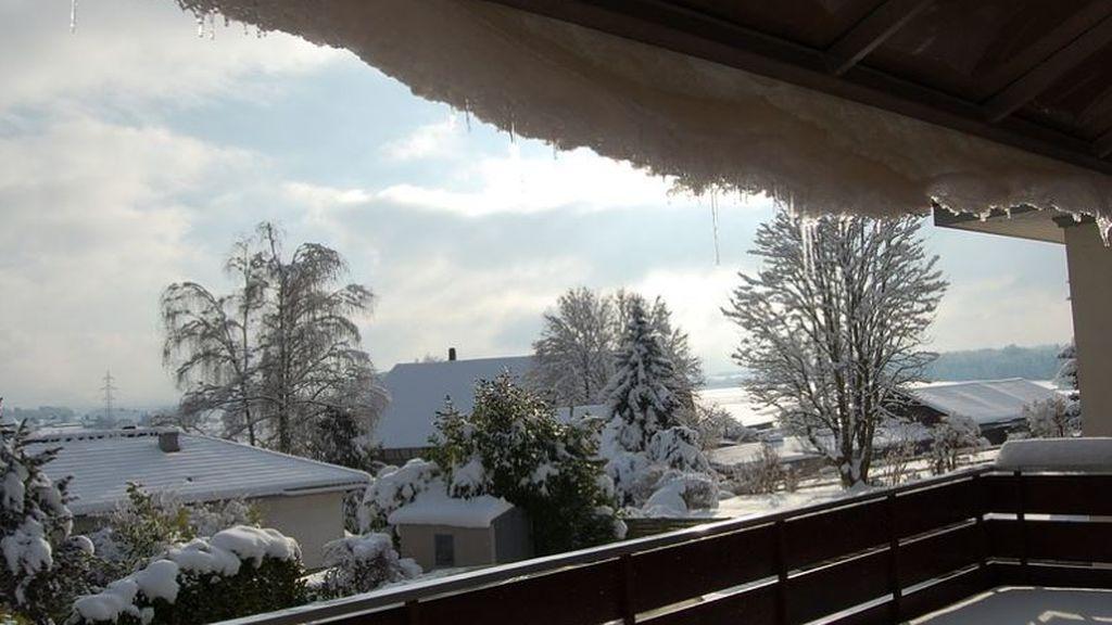 Lluvia y nieve para inaugurar abril: habrá que abrigarse varios días más para salir al balcón