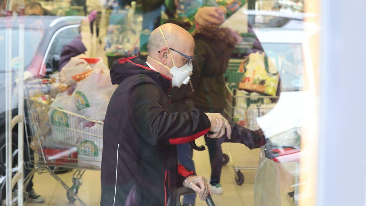 La compra de alimentos se modera en la primera semana de confinamiento