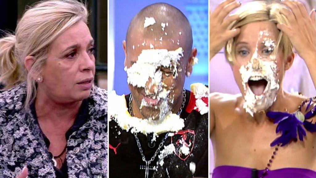El de Payasín a Carmen Borrego y otros tartazos 'gourmet' que vimos en Telecinco
