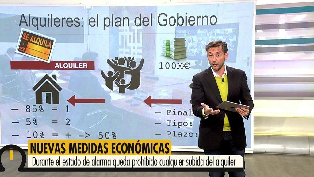 """Javier Ruiz, sobre los alquileres: """"No pueden subirle el precio y no le pueden desahuciar"""""""
