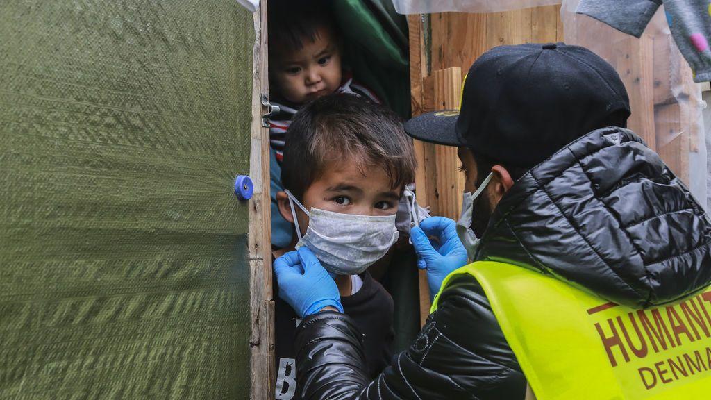 Coronavirus en los campos de refugiados griegos: el positivo de una embarazada dispara los miedos