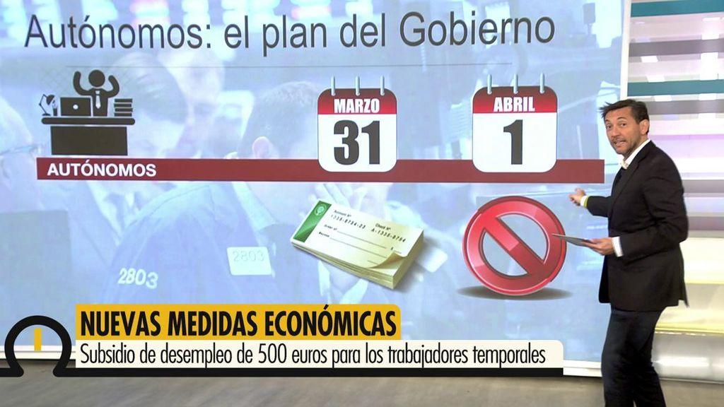 """Javier Ruiz explica las nuevas ayudas para autónomos: """"Aplazamiento en los pagos pero van a tener que pagarlos"""""""