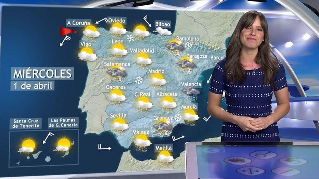 Abril arranca con aguas mil: el miércoles lloverá en toda España