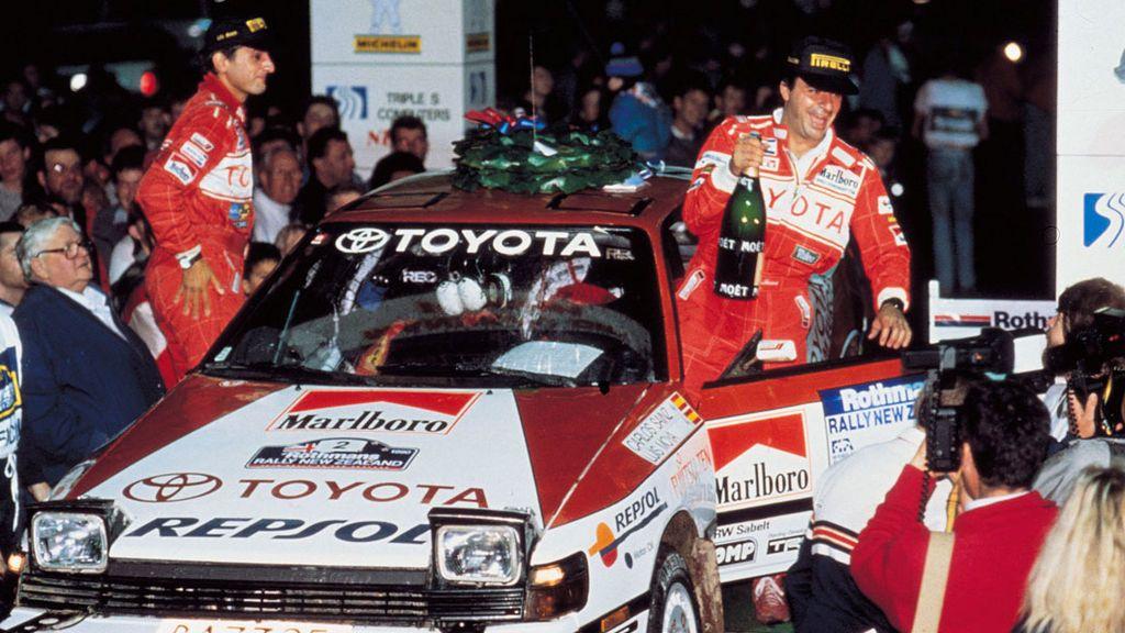 Carlos Sainz, así fue la conquista de su primer Mundial de rally