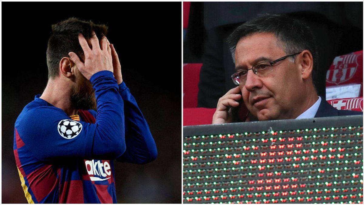 El mensaje de Messi ha sentado mal en la directiva del Barcelona y creen que se ha pasado