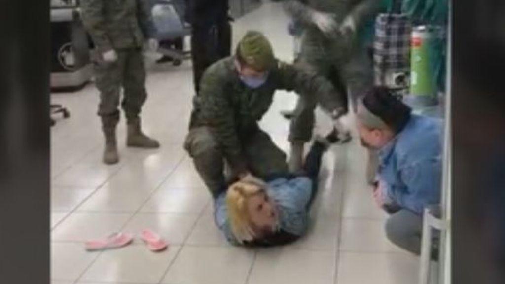 Detenida por el ejército