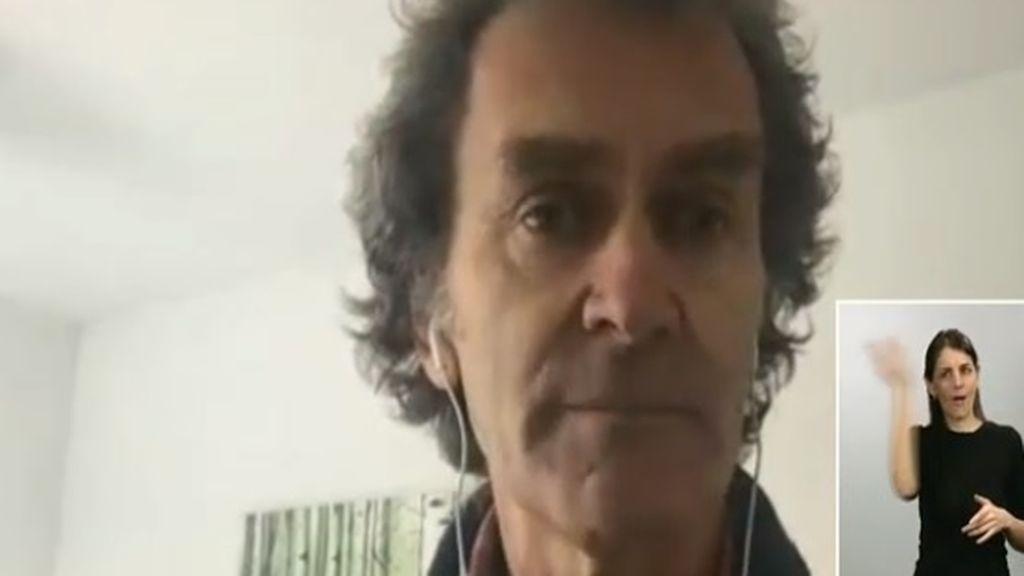 """Fernando Simón: """"Parece que estamos descendiendo el pico"""""""