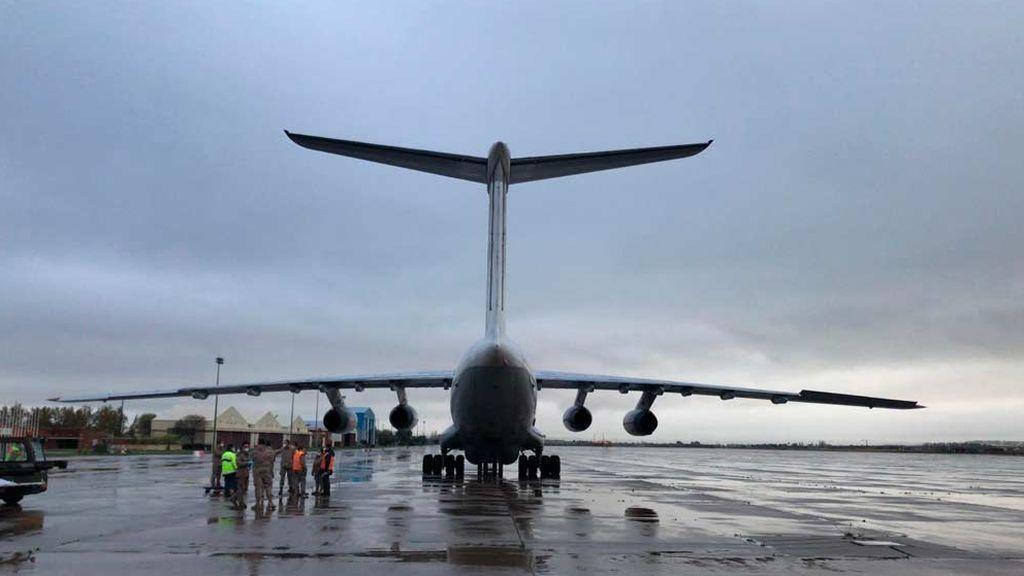 España recibe dos aviones con material sanitario de Turquía y China