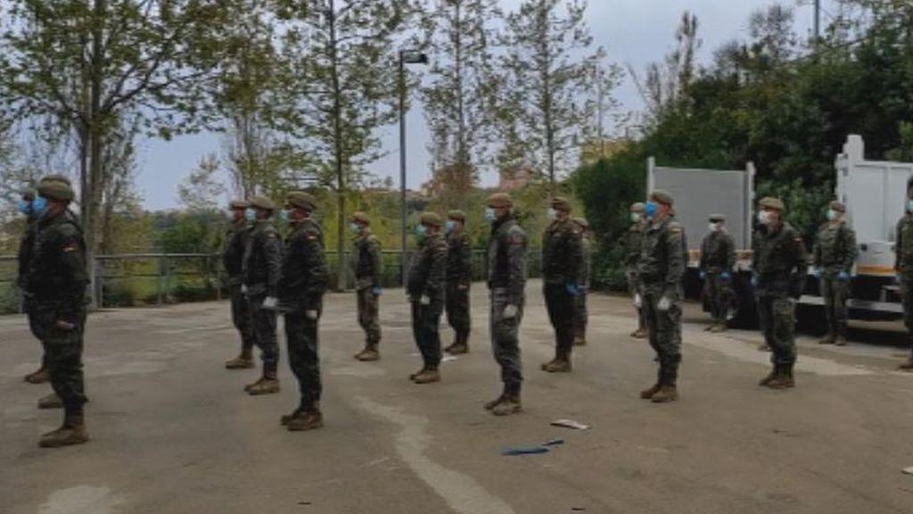 El ejército en Sabadell
